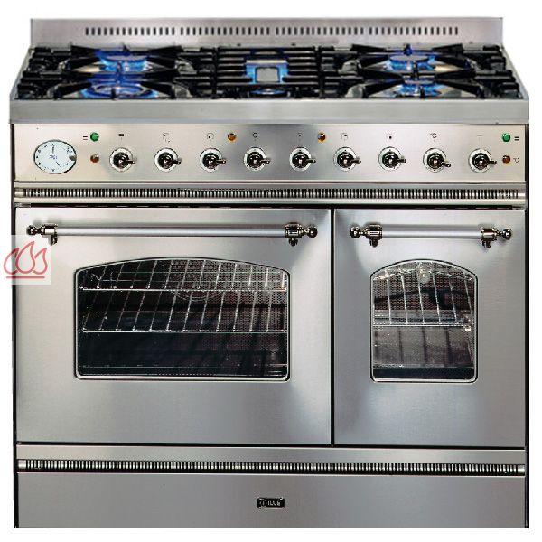 Piano de cuisson 90cm avec 2 fours table de cuisson personnalisable ilve e - Piano de cuisson 2 fours ...