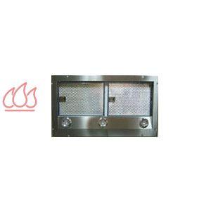 Hotte encastrable d 39 extraction 90cm avec clairage halog ne d 39 intensi - Hotte extraction exterieure ...