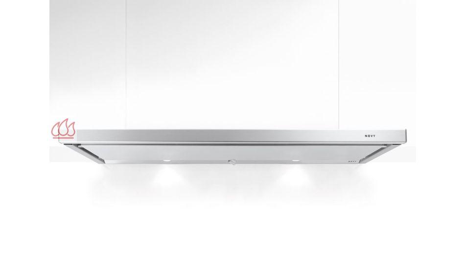 hotte tiroir inox 2 moteurs encastrable dans un meuble haut avec clairage led novy ec nov460. Black Bedroom Furniture Sets. Home Design Ideas