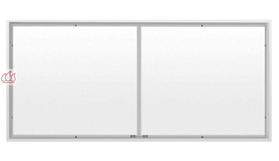 hotte de plafond blanche sans moteur extra large de 150cm. Black Bedroom Furniture Sets. Home Design Ideas