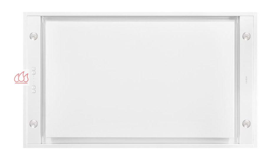 hotte de plafond blanche avec clairage led novy ec nov489 mon espace cuisson. Black Bedroom Furniture Sets. Home Design Ideas