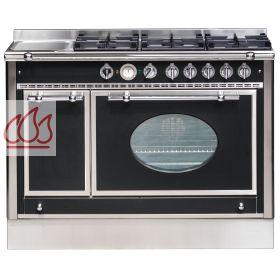 Piano de cuisson 120cm avec 1 four lectrique table de cuisson personnalisa - Piano cuisson electrique ...