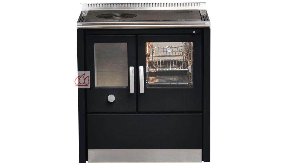 Piano de cuisson 80cm avec un four bois 40l j corradi ec jci175 mon esp - Piano de cuisson 80 cm ...