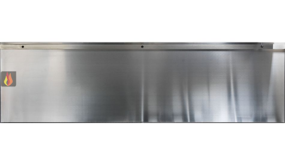 Cr dence inox pour hotte country de j corradi h51 l180cm j for Credence hotte inox