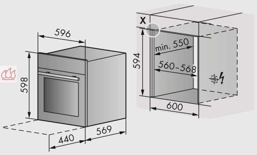 Combin four vapeur micro ondes de 55l simple cavit encastrable v zug ec - Prix four vapeur v zug ...