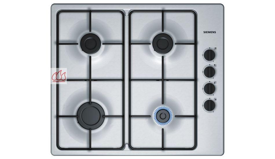 Table de cuisson gaz 60 cm encastrable inox 4 foyers - Table de cuisson gaz siemens ...
