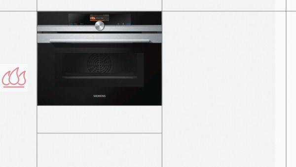 combin four et micro ondes de 45l noir encastrable siemens ec sie634 mon espace cuisson. Black Bedroom Furniture Sets. Home Design Ideas