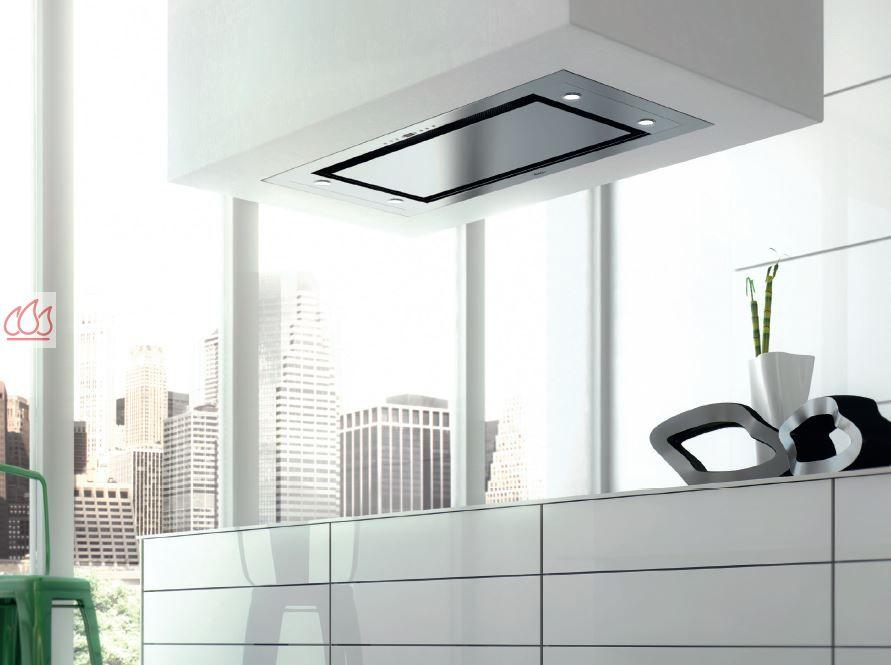 Hotte de plafond 90cm avec éclairage LED ROBLIN, EC-ROB439 - Mon ...