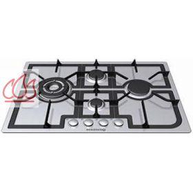 Table de cuisson gaz 75 cm encastrable inox 4 foyers - Table cuisson rosieres gaz ...