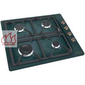 table de cuisson gaz 60 cm encastrable vert 4 foyers rosieres ec ros320 mon espace cuisson. Black Bedroom Furniture Sets. Home Design Ideas