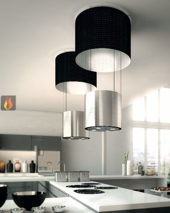 Latest hotte ilot central evacuation exterieure hotte ilot for Soldes cuisines equipees