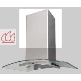prolongateur de chemin e pour hotte de hauteur totale 1055 1255mm. Black Bedroom Furniture Sets. Home Design Ideas
