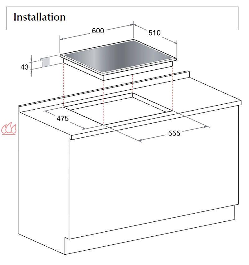 Table de cuisson gaz et electrique encastrable maison - Table de cuisson gaz et electrique encastrable ...