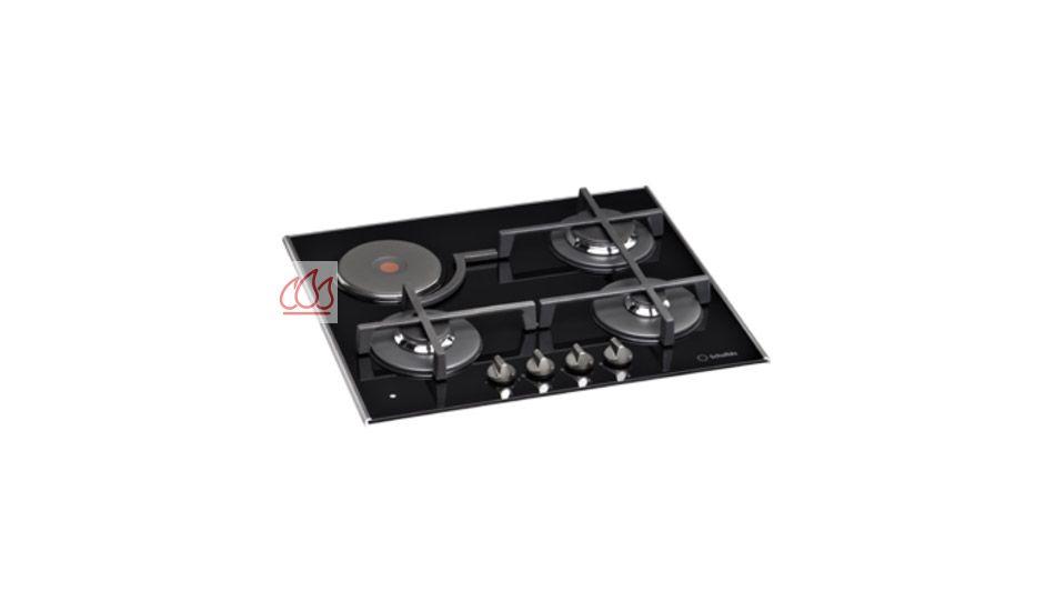 Table de cuisson mixte gaz lectrique 60 cm encastrable - Table de cuisson electrique ...