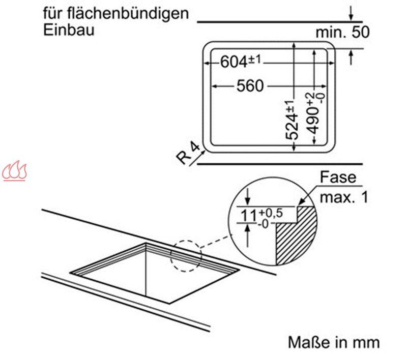 Table de cuisson gaz 75 cm encastrable inox 4 foyers for Table de cuisson gaz 85 cm