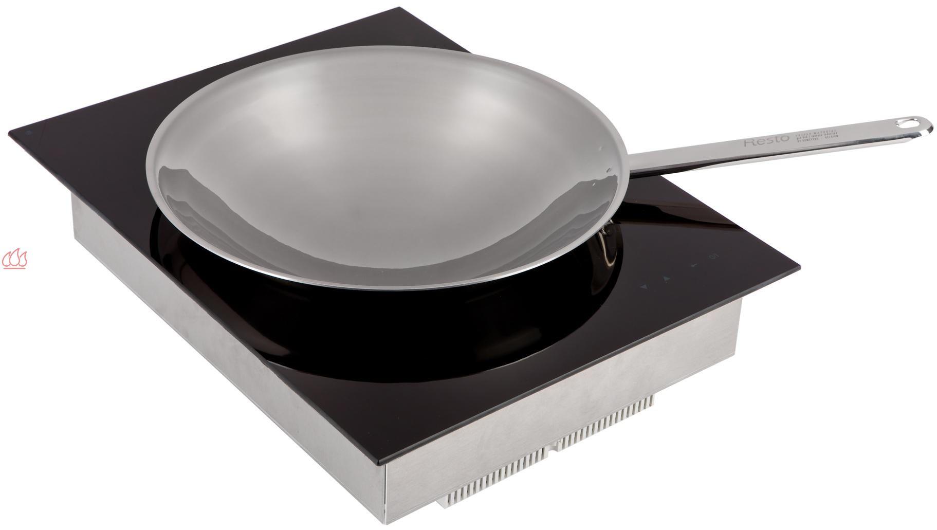 domino induction 40cm encastrable noir pour wok fratelli onofri ec fof301 mon espace cuisson. Black Bedroom Furniture Sets. Home Design Ideas