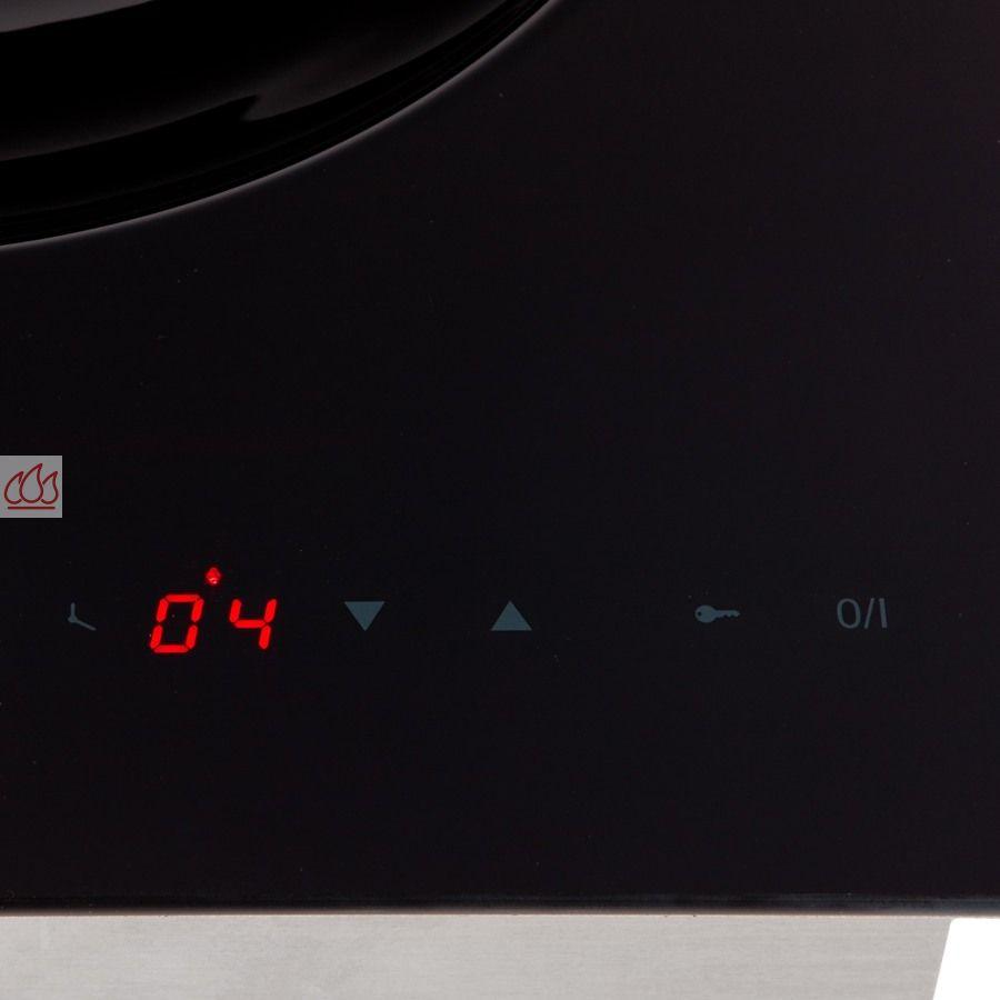 Domino induction 40cm encastrable noir pour wok fratelli - Cucine fratelli onofri ...