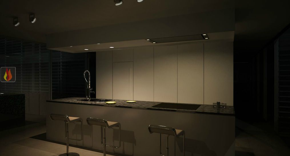 hotte de plafond avec clairage leds de 116cm de largeur novy ec nov401 mon espace cuisson. Black Bedroom Furniture Sets. Home Design Ideas