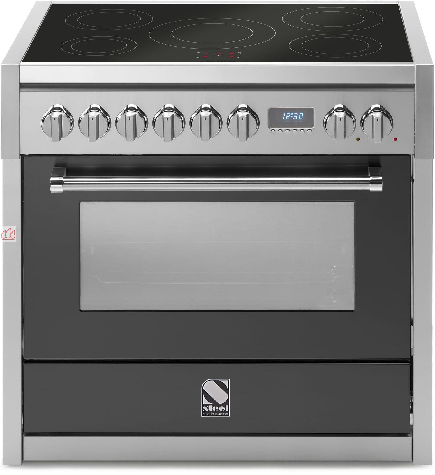 Piano de cuisson avec 1 four combin vapeur table de cuisson personnalisable steel cucine ec - Four combine vapeur ...