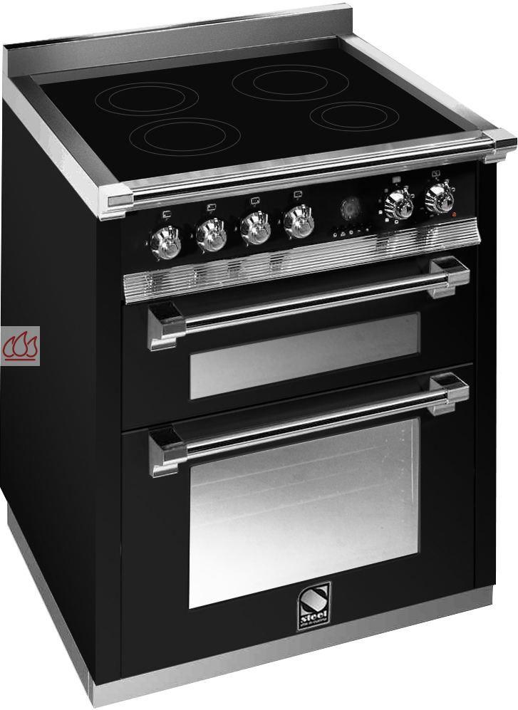 piano de cuisson avec 2 fours table de cuisson personnalisable steel cucine ec ste117 mon. Black Bedroom Furniture Sets. Home Design Ideas