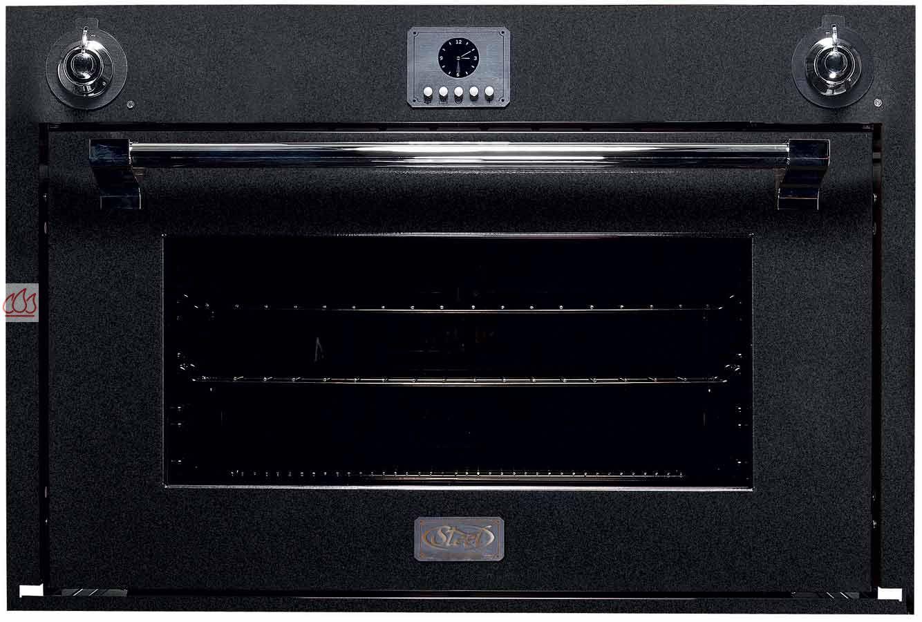 four multifonction de grande capacit 91l simple cavit encastrable steel cucine ec ste509. Black Bedroom Furniture Sets. Home Design Ideas