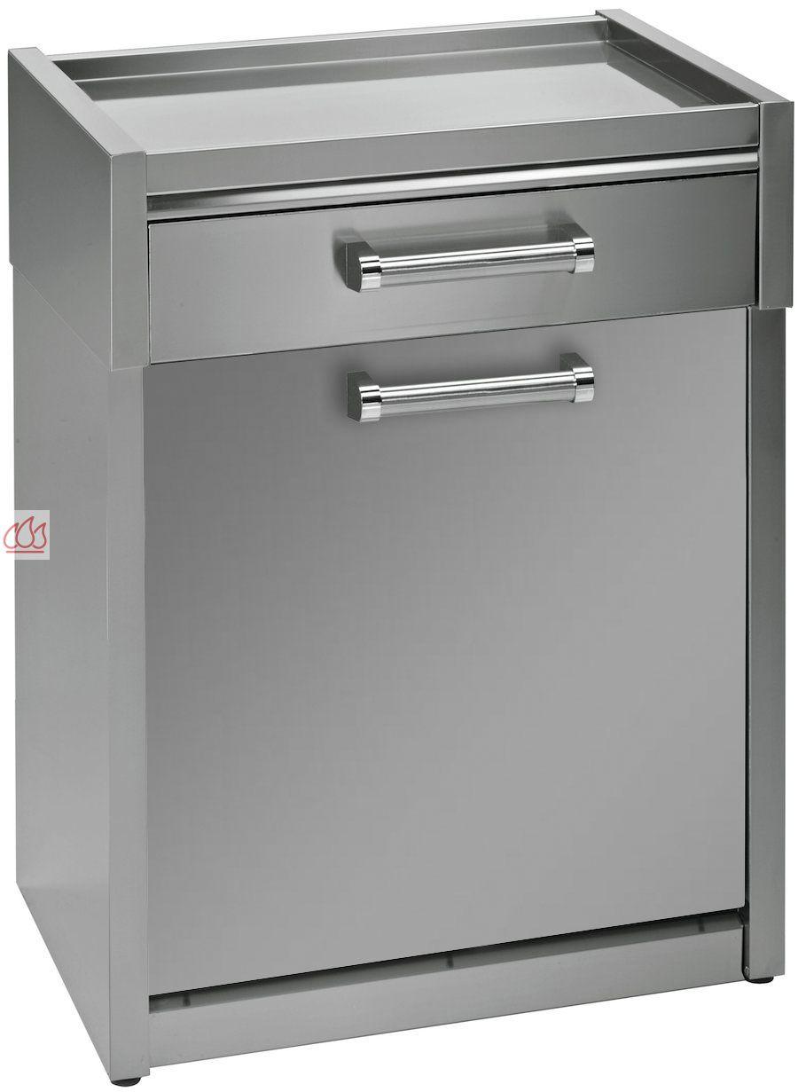 module de cuisine plan de travail avec 1 tiroir et 1 placard 70cm steel cucine ec ste1603 mon. Black Bedroom Furniture Sets. Home Design Ideas