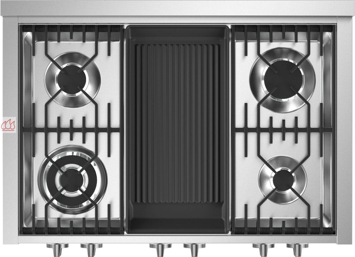 table de cuisson mixte gaz barbecue vitroc ramique 90 cm pose libre inox 6 foyers dont 1. Black Bedroom Furniture Sets. Home Design Ideas