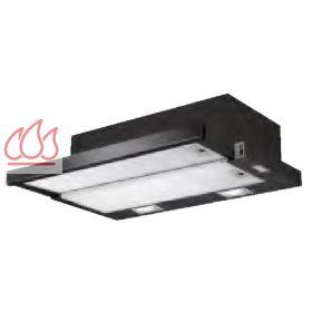 hotte tiroir noire encastrable dans un meuble haut airlux ec air413 mon espace cuisson. Black Bedroom Furniture Sets. Home Design Ideas