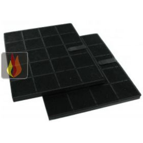 Lot de 2 filtres charbon pour hotte ec fof400 - Cucine fratelli onofri ...