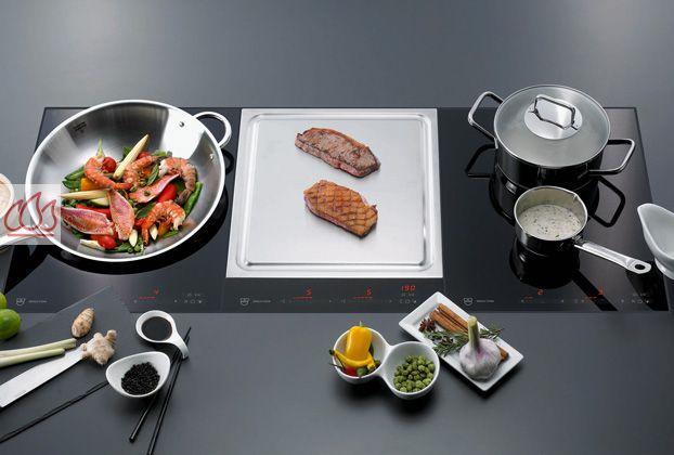 domino induction 38cm encastrable noir pour wok v zug ec vzu312 mon espace cuisson. Black Bedroom Furniture Sets. Home Design Ideas