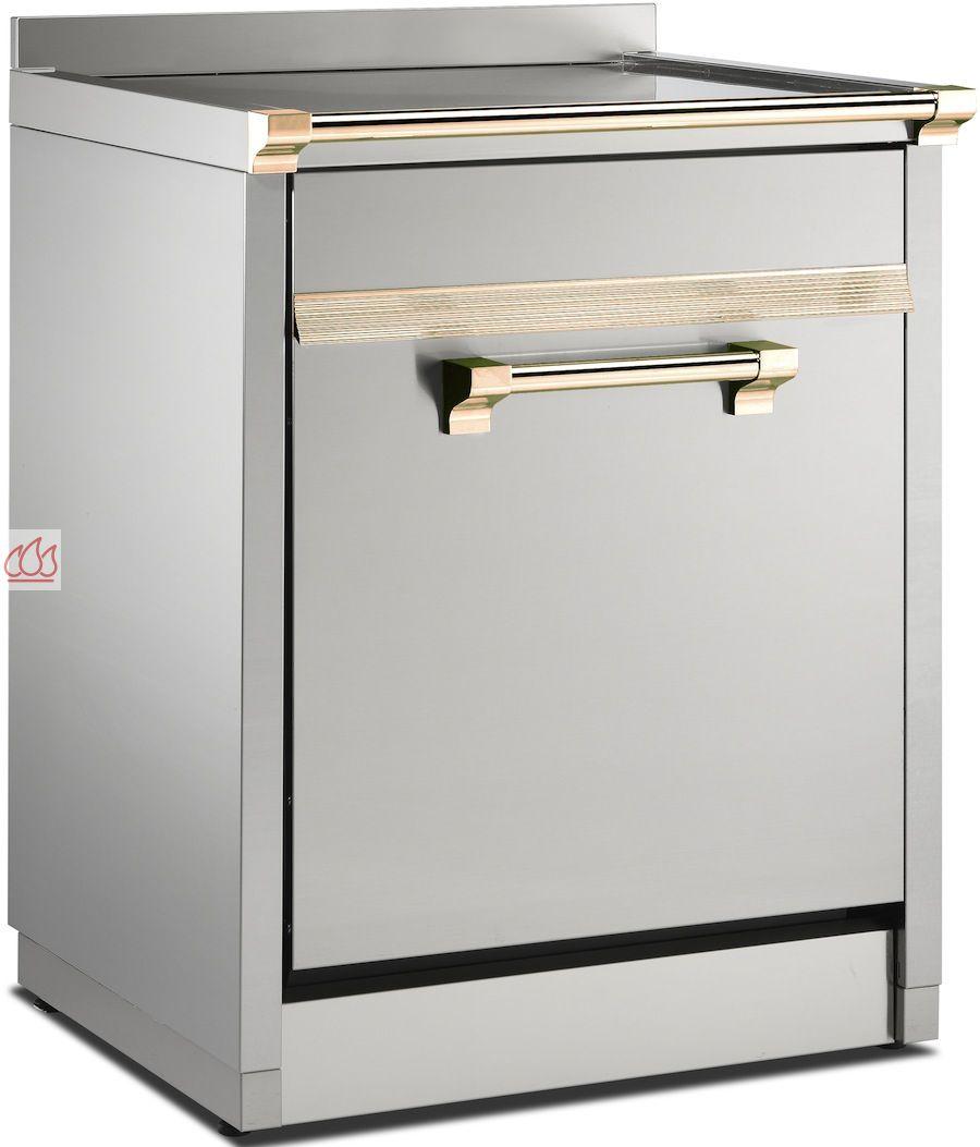meuble avec plan de travail inox pour lave vaisselle. Black Bedroom Furniture Sets. Home Design Ideas