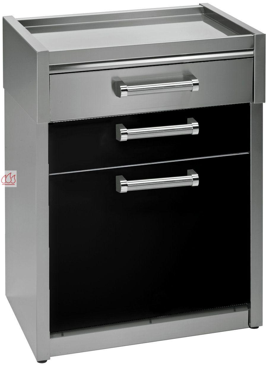 Module de cuisine plan de travail avec 3 tiroirs 70cm for Cuisine avec electromenager offert
