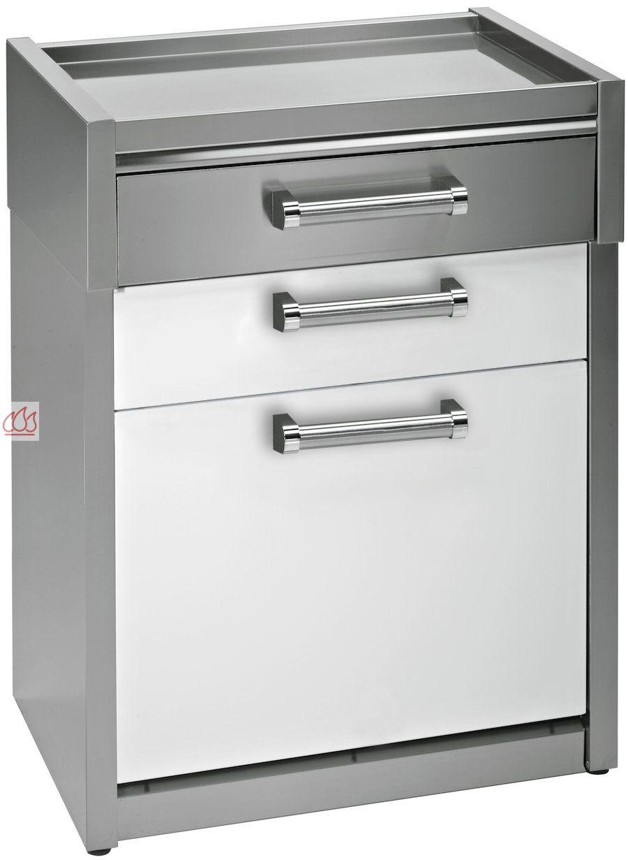 module de cuisine plan de travail avec 3 tiroirs 70cm steel cucine ec ste1628 mon espace cuisson. Black Bedroom Furniture Sets. Home Design Ideas