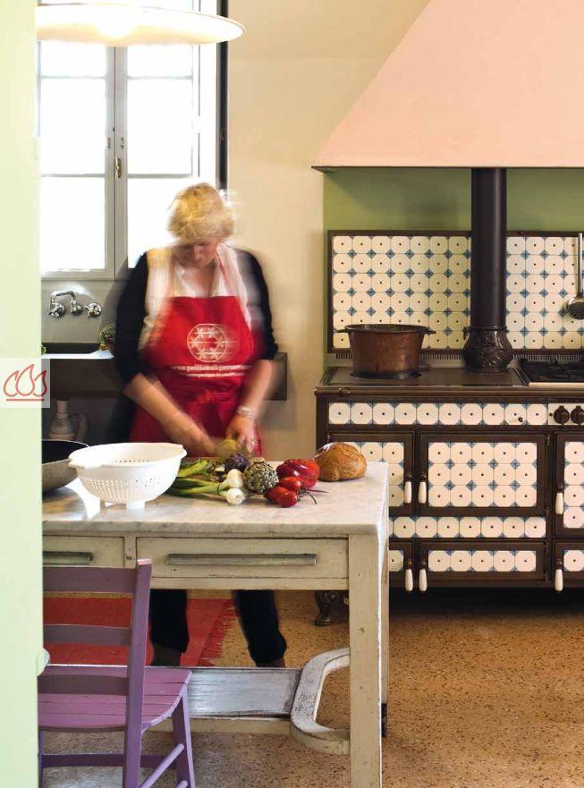 piano de cuisson bois gaz et lectrique 200cm avec 3 fours et plaque de cuisson personnalisable. Black Bedroom Furniture Sets. Home Design Ideas