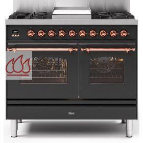 piano de cuisson 100cm avec 2 fours table de cuisson personnalisable avec tiroir ilve ec. Black Bedroom Furniture Sets. Home Design Ideas