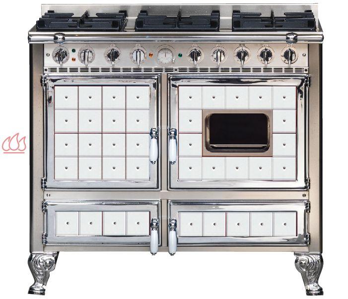 piano de cuisson 100cm avec 2 fours lectriques et plaque. Black Bedroom Furniture Sets. Home Design Ideas